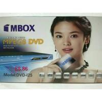 Dvd Player MPEG8 MBOX (BODY BESI) DVD-125 USB, MIC1, MIC2