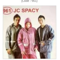 Jas Hujan Jaket Celana Spacy 961 dolphin#ada penguin, polkadot rok