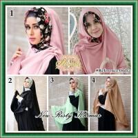 Jilbab Khimar Terbaru Ala Risty Tagor Bahan Velvet Impor *recommend