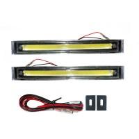 OTOmobil Lampu DRL LED 30CM Ultra Bright COB Exterior AI-DRL-LD-C107
