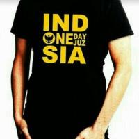 Kaos Oblong / Kaos Pria / T-shirt / Kaos Islami / Kaos One Day One Juz