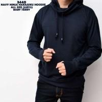 Sweater Navy Ninja Harajuku Hoodie