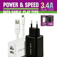 TC Log On 3.4A Fast Charging Dual Usb