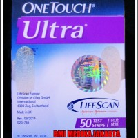 harga One Touch Ultra Tes Strip Tokopedia.com