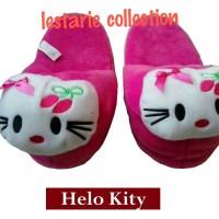 Jual sandal boneka anak hello kitty M (sandal anak,sandal rumah) Murah