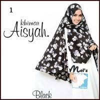 Model Kerudung Khimar Syari Motif - Khimar Aisyah By Melz Hijab