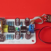 Kit Cmoy Head Amp / Headphones Amplifier NE5532 Op-amp