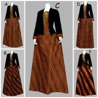 harga D1806 Setelan Rok dan Blus Batik Panjang Wanita Tokopedia.com