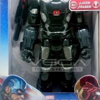 Hasbro Civil War Electronic Titan Hero Series WarMachine Mark III