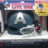 Hasbro Marvel Civil War Captain America Scope Vision Helmet