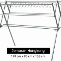 Jemuran Silver Hanger / Gantungan