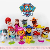 12pc PAW Patrol and Friends Figure Set-Nickelodeon Toys