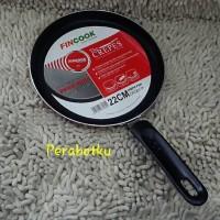 harga FINCOOK CP2201TF Crepe Pan 22cm wajan teflon crepes maker kulit lumpia Tokopedia.com