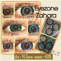 Contact Lens Softlens Eyezone Zahara Normal Minus Lensa Kontak