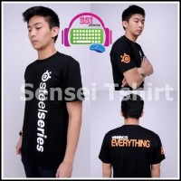 harga Kaos Gaming DOTA2 CS:GO Point Blank : Steelseries Sensei T-shirt Tokopedia.com