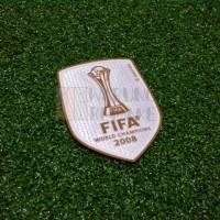 FIFA CLUB WORLD CUP CHAMPIONS BADGE 2008 (MAN UTD)