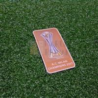 FIFA CLUB WORLD CUP CHAMPIONS BADGE 2007 (AC MILAN)