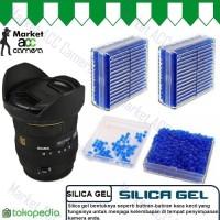 Silica Gel Desiccant Blue (Melindungi Lensa Camera dari Jamur, Lembab)