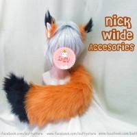 Accesories Cosplay Animal Nick wilde ZOOTOPIA FOX