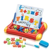 magnetic drawing board - papan tulis magnet - learning easel anak