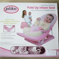 Bouncer Fold Up Infan Seat Mother's Touch Pink - Pliko