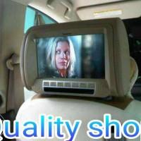 Tv Headrest 9 Inch Centrum (Warna Beige, Hitam)