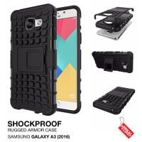 Samsung Galaxy A3 2016 Rugged Shockproof Armor Hybrid Hard & Soft Case