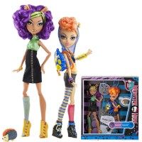 Monster High Exclusive Clawdeen Wolf & Howleen Wolf Doll - Original