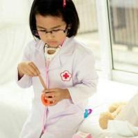 Harga baju dokter anak kostum anak baju dokter jas | antitipu.com