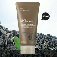The Face Shop Jeju Volcanic Lava Pore Scrub Foam 150ml