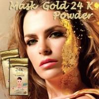 Masker Muka 24K Bubuk Emas / Makser Emas / Masker Gold 24k