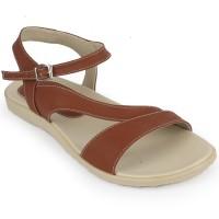 Sandal Wanita Murah Women Sandals Strappy Tan