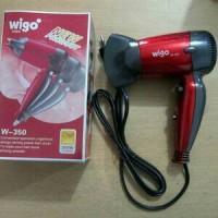 Jual Hairdrayer Pengering rambut Wigo mini W-350 Hair Dryer Hairdryer Murah