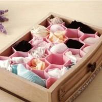 Sekat Lemari Laci Pakaian Dalam Underwear Storage Celana Baju