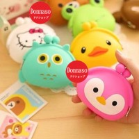 Dompet Koin, Dompet Lucu, Dompet Koin Silicone, Coin Pouch, Hellokitty