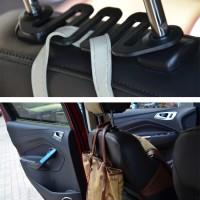 Triple Hook Car Back Seat Hanger Gantungan Barang Belakang Jok Mobil