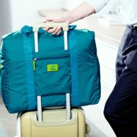 FOLDABLE TRAVEL BAG/HAND CARRY TAS LIPAT / KOPER LUGGAGE ORGANIZER