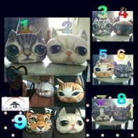 harga Bantal Mobil Kucing 3D Tokopedia.com