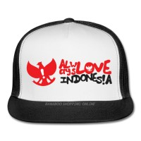 harga TOPI TRUCKER ALWAYS LOVE INDONESIA - BANABOO SHOPPING Tokopedia.com