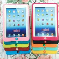 harga Ipad Mini 1/2/3 Cute Colours Sillicone / Silikon / Soft Case Tokopedia.com
