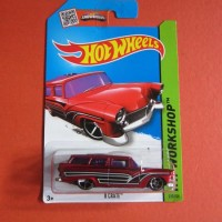 Hot Wheels 8 Crate Red