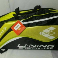 harga Tas Raket Badminton Ransel Lining ABDJ 206 (ORIGINAL) Tokopedia.com