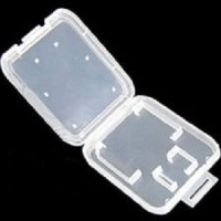 Case Holder Plastic Storage Box for Micro SD / SDHC