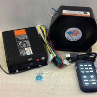 Toa Wireless sirine polisi 19 suara 200 Watt ori
