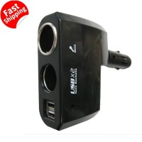 Dual USB Car Charger Mobil 2a for Charger HP Asus Smartfren Apple Sony