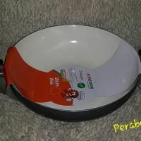 harga FINCOOK CW3003 Ceramic Wok 30cm pam wajan penggorengan lapis keramik Tokopedia.com