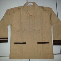 Jual No.15 Kemeja/Baju Seragam Sekolah SD Pramuka Siaga Panjang Famatex Murah