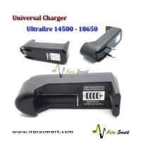 Universal Charger, Baterai Ultrafire 14500 - 18650