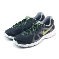 Nike Revolution 2 MSL 554954055-Sepatu running/lari pria-Black/Volt