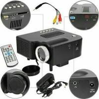 Jual mini proyektor portabel UC 28+ lcd led multi fungsi bisa hubung tv Murah